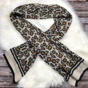 Mossimo Leopard Print Scarf